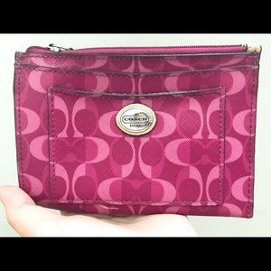 COACH Dream C Coral Peyton Dream C Medium wallet